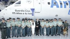 Air Europa homenajea a la Guardia Civil (Foto: Air Europa)
