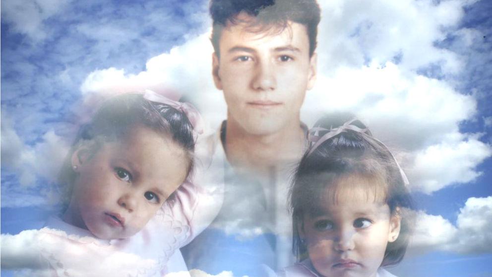 Los tres familiares de Francisco José Alcaraz que  fallecieron en el atentado de ETA en Zaragoza de 1987