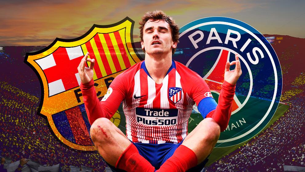 Griezmann podría acabar en el Barcelona… o en el PSG.