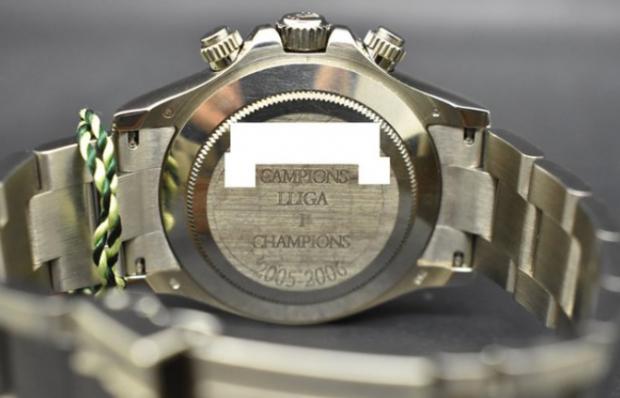 El misterioso caso del reloj de Víctor Valdés