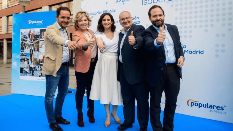 Isabel Díaz Ayuso, candidata del PP a la Comuniddad de Madrid. @PP