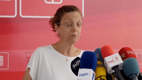Gloria Rojas, secretaria general de PSOE Melilla.