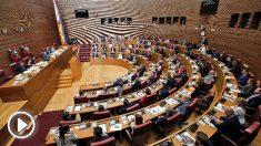 Constitución de las Cortes Valencianas.