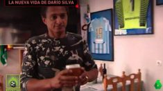 Darío Silva en una pizzería (Jugones)