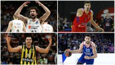 La Final Four se la Euroliga cuenta con los mejores jugadores del Viejo Continente.