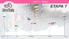 Así es la séptima etapa del Giro de Italia 2019.