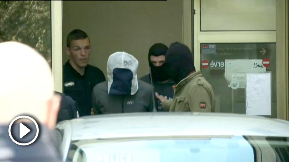 Primeras imágenes de Josu Ternera tras su detención.