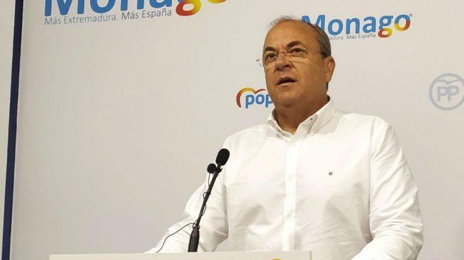 Monago está dispuesto a votar a Ciudadanos si saca más escaños que el PP en Extremadura