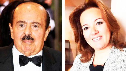 El traficante de armas Adnan Khashoggi y la candidata de Vox en Marbella Rosa María Calvente.