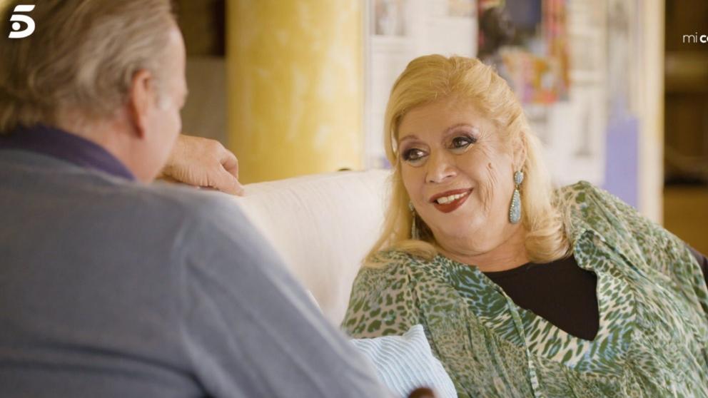 María Jiménez recibe a Bertín en 'Mi casa es la tuya'