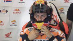 Honda podría bajar a Márquez de la moto. (Getty)