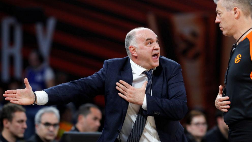 Los árbitros no respetaron al Real Madrid en la Final Four. (EFE)