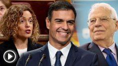Batet, Sánchez y Borrell