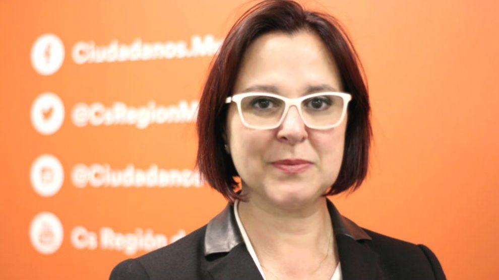 La candidata de Ciudadanos para la Región de Murcia, Isabel Franco