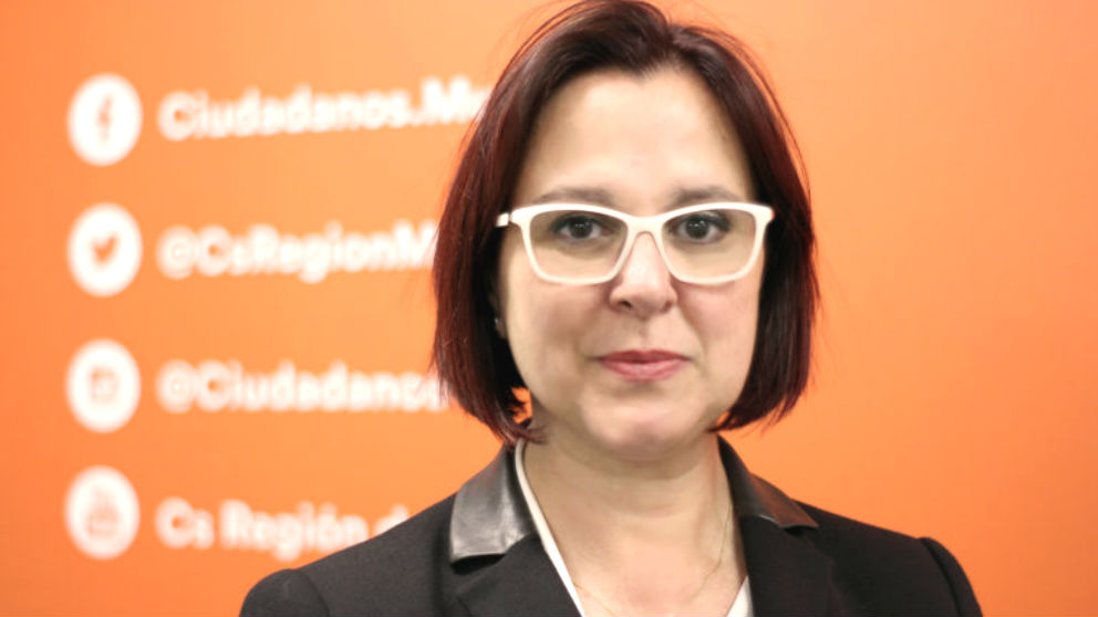 La vicepresidenta de la Región de Murcia, Isabel Franco
