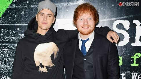 Ed Sheeran y Justin Bieber