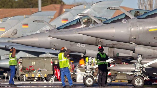 Defensa inyecta 8 millones en su escuela de pilotos 'top gun' para ser la envidia de la OTAN