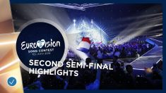 Segunda semifinal de Eurovisión 2019.