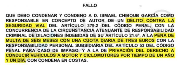 El socialista El socialista Ismael Chiboub García fue