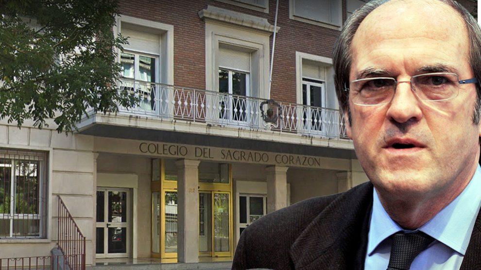 Ángel Gabilondo fue profesor del colegio Sagrado Corazón de Madrid en su etapa como fraile.