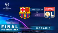 Barcelona – Olympique de Lyon: final de la Champions League femenina.