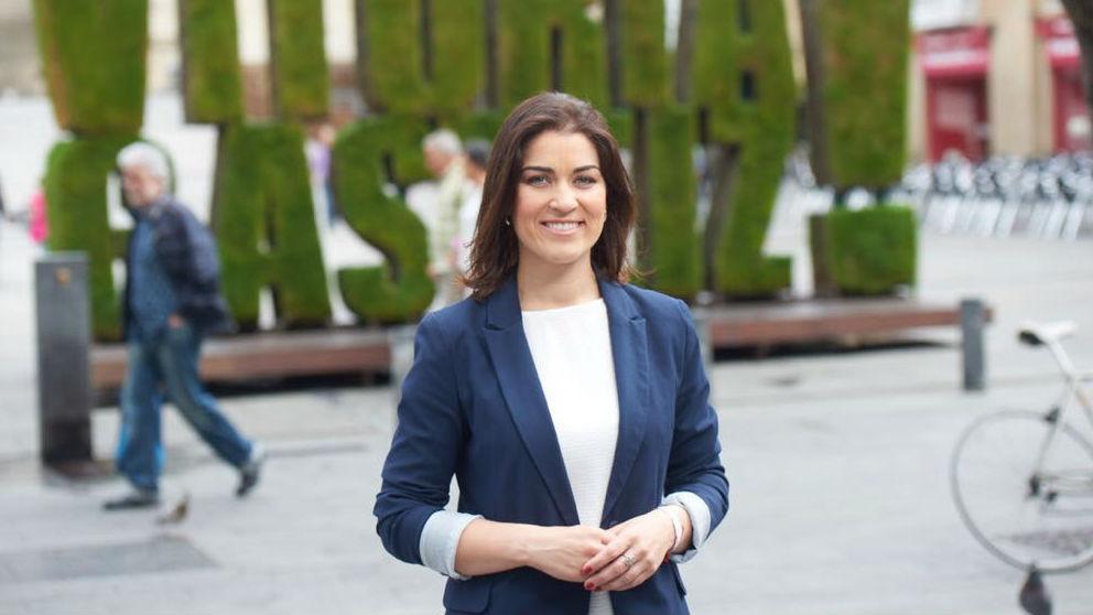 Leticia Comerón, candidata del PP a la alcaldía de Vitoria.