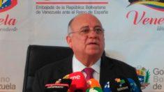 Mario Isea, embajador venezolano nombrado por el régimen de Nicolás Maduro. Foto: EP