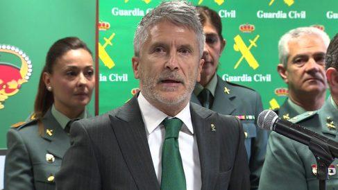 El ministro del Interior, Fernando Grande-Marlaska.