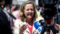 Nadia Calviño, Vicepresidenta del Gobierno y ministra de Economía.