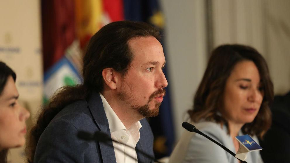 Pablo Iglesias, líder de Unidas Podemos.