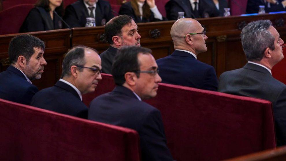 Los políticos independentistas, en el Tribunal Supremo por el 1-O @ EP