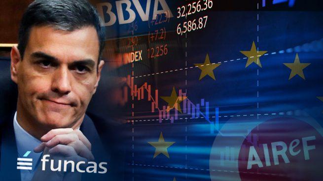 Nadie se cree a Sánchez: Bruselas, Airef, BBVA y Funcas corrigen su previsión de déficit