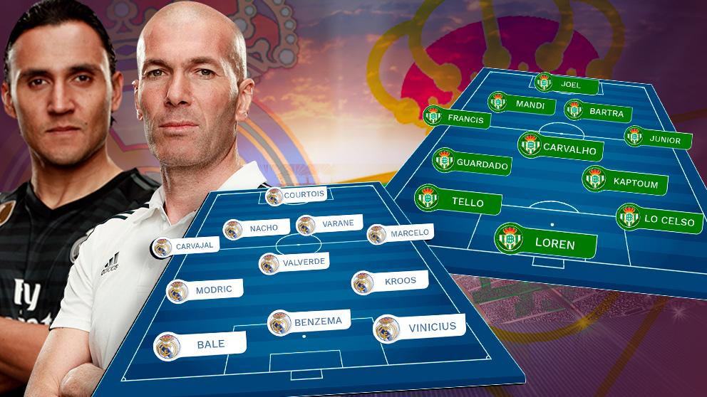 Real Madrid y Betis juegan este domingo en el Bernabéu.