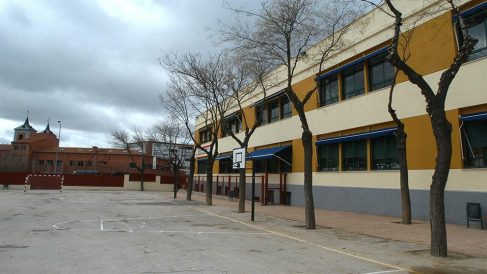 Centro escolar en la Comunidad de Madrid (EP)