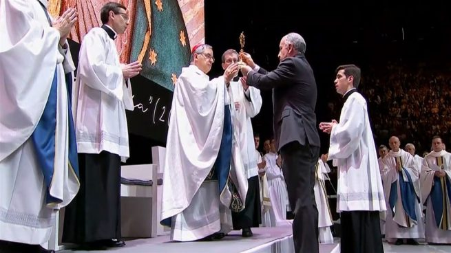 La Iglesia beatifica en Madrid a la química Guadalupe Ortiz de Landázuri ante 11.000 personas