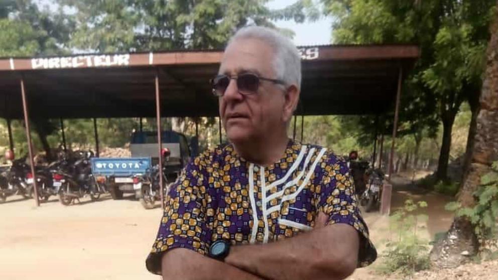 El misionero salesiano Fernando Hernández
