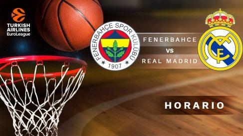 Final Four Euroliga 2019: Fenerbahçe – Real Madrid | Horario del partido de baloncesto de Euroliga.