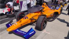 Fernando Alonso no tuvo un coche competitivo en Indianápolis.