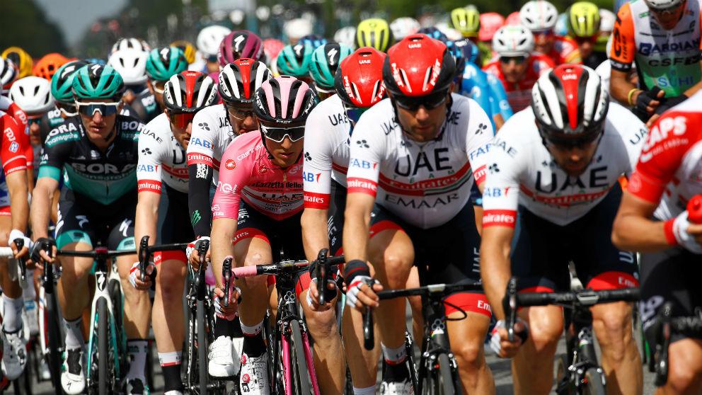 Edición pasada del Giro de Italia.