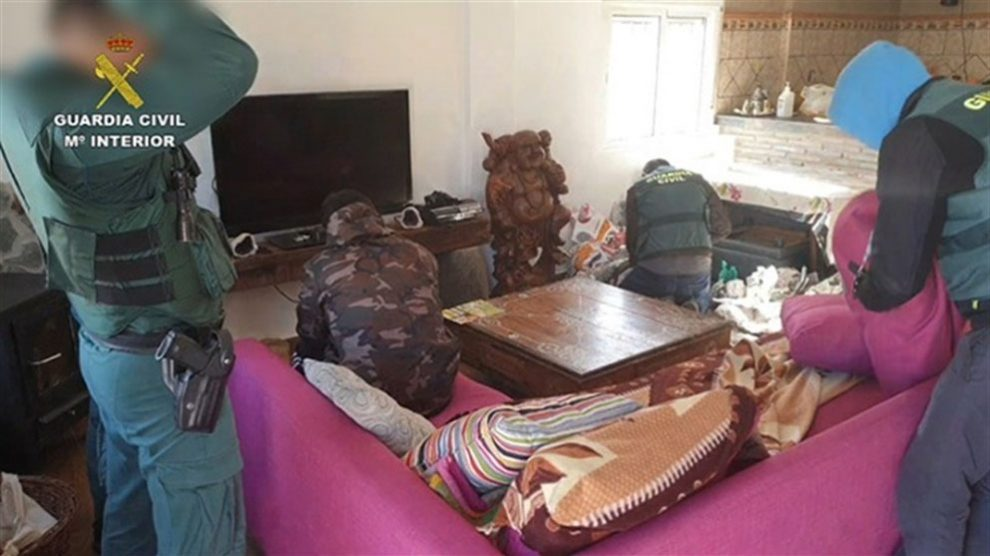 La Guardia Civil se incauta de nueve toneladas de hachís