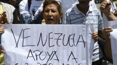 Manifestantes contra Maduro (AFP)