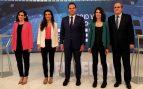 Debate de Telemadrid de las elecciones autonómicas. (Foto. EFE)