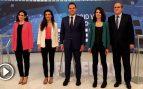 Un 'riverizado' Aguado gana a los puntos un debate autonómico en el que Ayuso y Gabilondo salvan los muebles