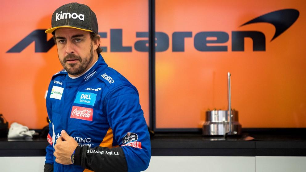 Fernando Alonso, en una imagen de archivo. (AFP)