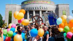 Una de las manifestaciones convocadas en varias ciudades de Alemania en contra de los nacionalismos y a favor de la unidad europea. Foto: EP