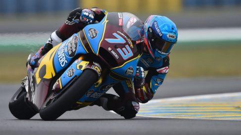 Álex Márquez en el GP de Francia de Moto2. (AFP)