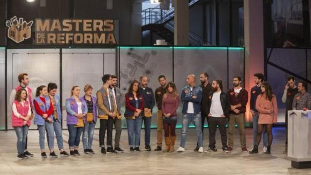 Los concursantes de 'Masters de la reforma'