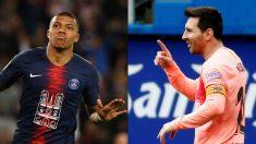 Mbappé y Messi.