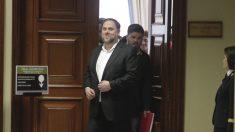 Oriol Junqueras en el Congreso de los Diputados (Foto: Francisco Toledo).