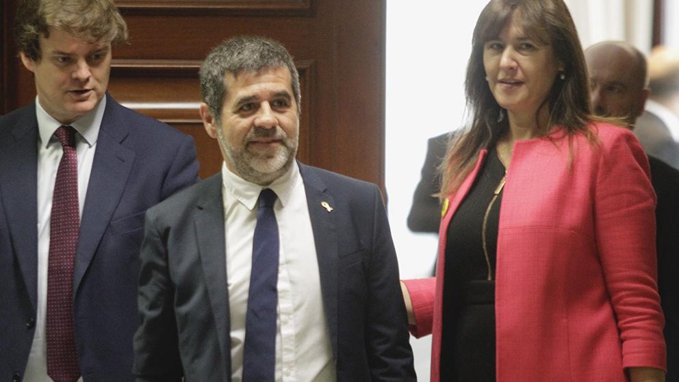 Jordi Sánchez recoge su acta de diputado (Foto: Francisco Toledo).